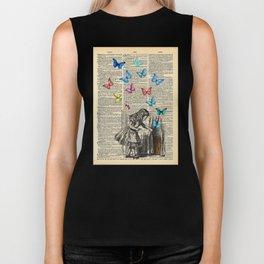 Alice In Wonderland - Let The Adventure Begin Biker Tank
