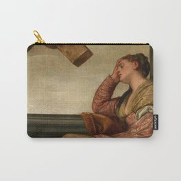 "Veronese (Paolo Caliari) ""The Dream of Saint Helena"" Carry-All Pouch"