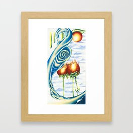 Poppie Flowers Framed Art Print