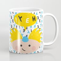 arnold Mugs featuring Hey! Arnold by Carly Watts