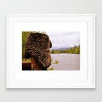 montana Framed Art Prints featuring Montana by Katie Pietrantonio