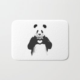 save panda Bath Mat