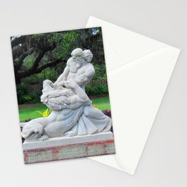 Samson And The Lion Stationery Cards