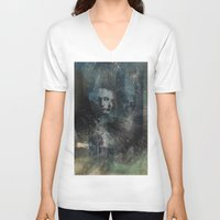 dark souls V-neck T-shirts featuring Dark Souls by Lil'h