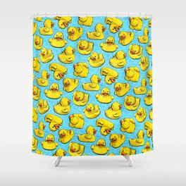 Adventure Duck Shower Curtain