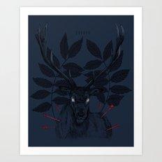 IIIIII Art Print