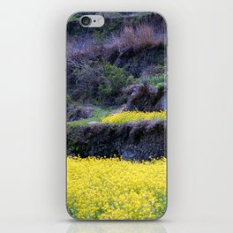 Rape Flowers 2 iPhone Skin