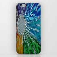 chakra iPhone & iPod Skins featuring Chakra Healing by Pixie Willow Art Designs