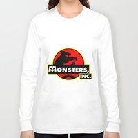 monsters inc Long Sleeve T-shirts featuring Monsters, Inc Logo.  by Gary Wood