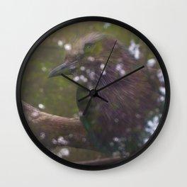 Exotic Bird Wall Clock
