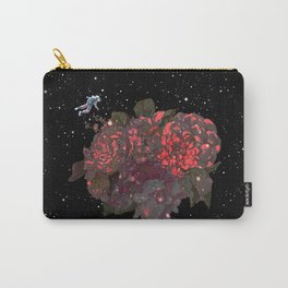 Meet Flowers in Space Carry-All Pouch