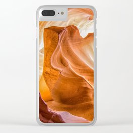 Navajo Lines Clear iPhone Case