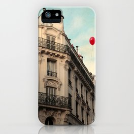 Balloon Rouge iPhone Case