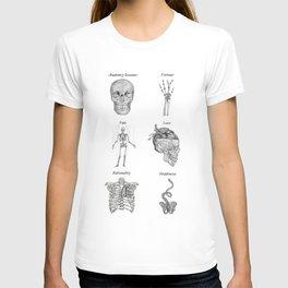 Anatomy lessons T-shirt