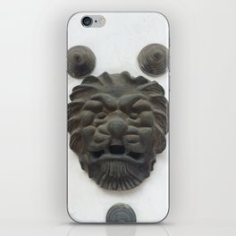 Cartagena Lion Mug, Colombia, South American iPhone Skin