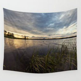 sunset on south bay Wall Tapestry