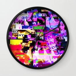 #FREEKESHA Wall Clock