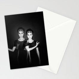 Casstronaut & The Bird Bones - Holga Black and White Double Exposure  Stationery Cards