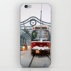 Snow Day iPhone & iPod Skin