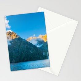 Milford Sound wild beauty, New Zealand. Stationery Cards