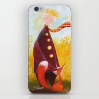 le petit prince iPhone & iPod Skins featuring Le Petit Prince by Federica Fabbian
