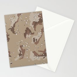 Desert Camo Stationery Cards
