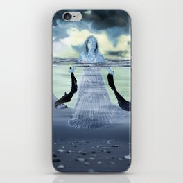 Sinking the Moon iPhone Skin