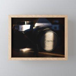 Film Camera #3 Framed Mini Art Print