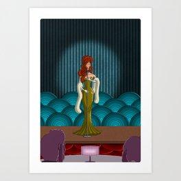 Love Dance Art Print