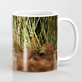 Macro close up forest life spying Coffee Mug