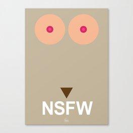 NSFW #3 Canvas Print