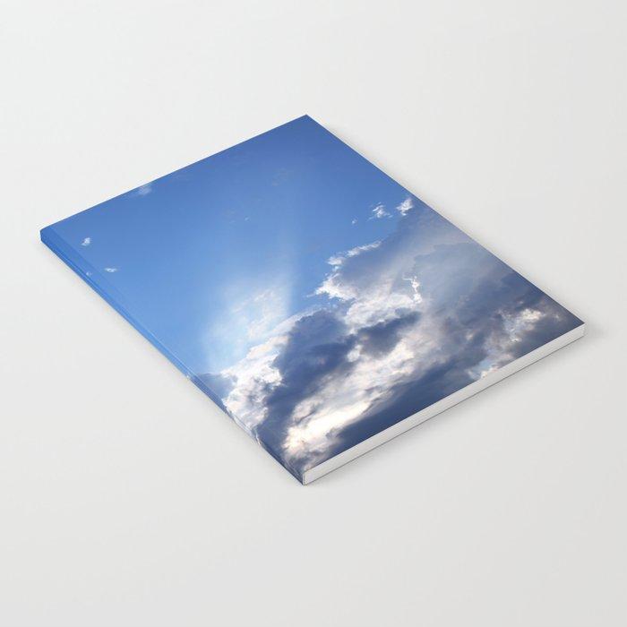 Cloudy Sky Notebook