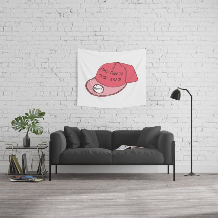 Make Periods Great Again Wall Tapestry