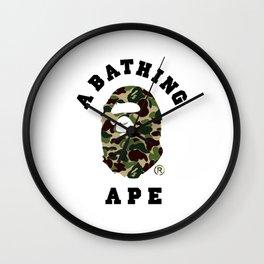 A bathing ape Wall Clock