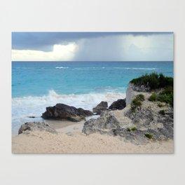 Beautiful Bermuda Beach 2 Canvas Print