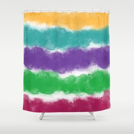 A Case of the Stripes Shower Curtain