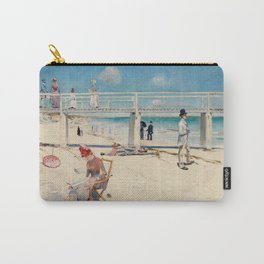 Charles Conder  -  A Holiday At Mentone Carry-All Pouch
