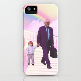 PawPaw Bernie iPhone Case