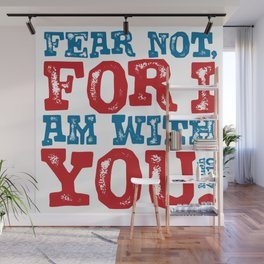 Isaiah 41:10 Bible quote Wall Mural
