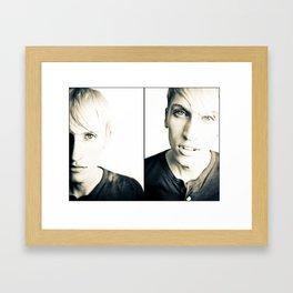 GABE Framed Art Print