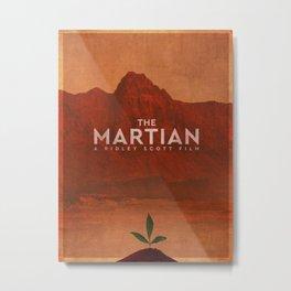 The Martian (2015) Poster Metal Print
