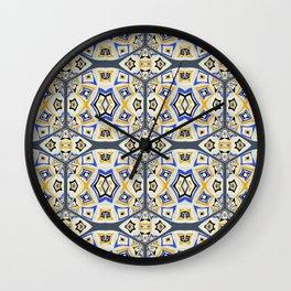 Modern Mystical Geometric 1 Wall Clock