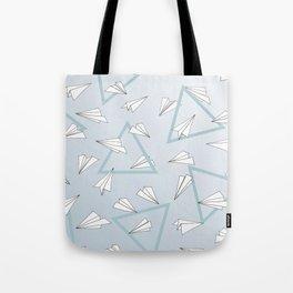 Paper Planes - Blue Tote Bag