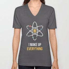 Never Trust an Atom Unisex V-Neck