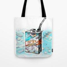 NITROUS OXIDE Tote Bag