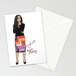 Lana Parrilla as Angie Ordonez (Spin City TV Show) Stationery Cards