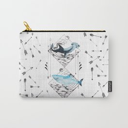 sharks & arrows Carry-All Pouch