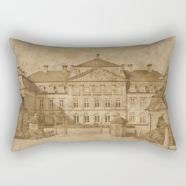 The castle Rectangular Pillow