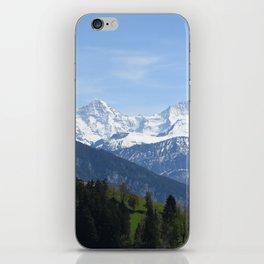 Eiger Bernese Oberland Switzerland iPhone Skin