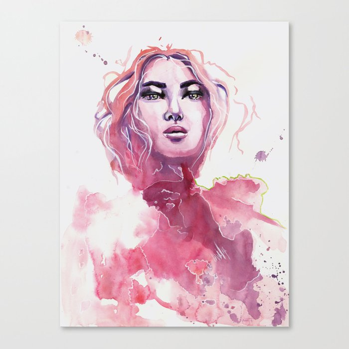 how far will you go Canvas Print